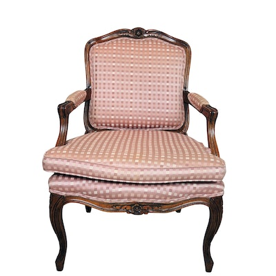 Louis XVI Style Fauteuil, Mid to Late 20th Century