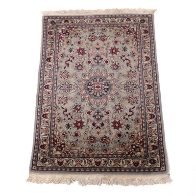 2'1 x 3'4 Hand-Knotted Sino-Persian Isfahan Rug