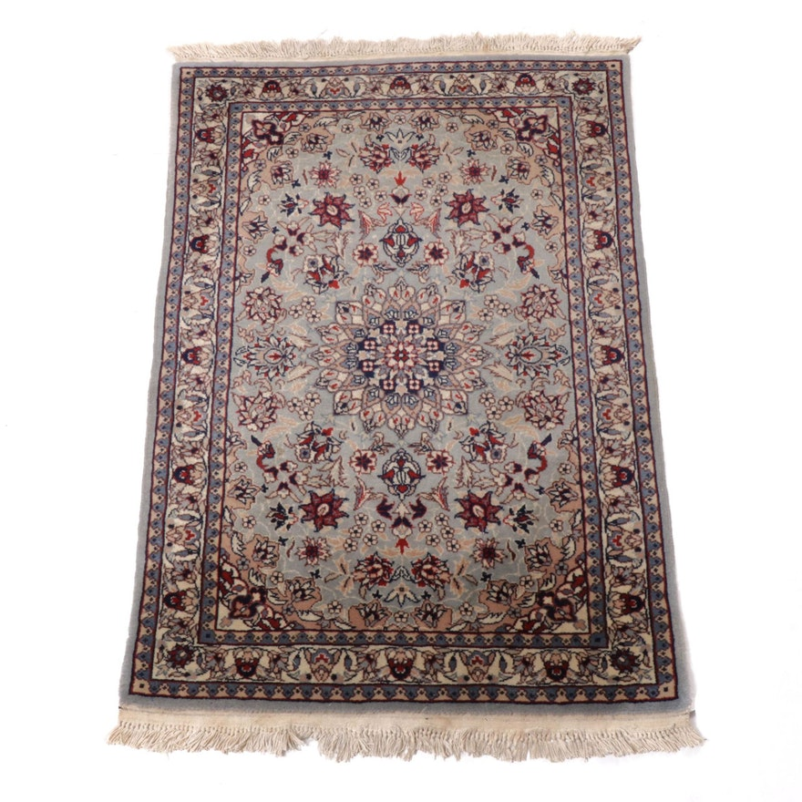 2'1 x 3'4 Hand-Knotted Sino-Persian Isfahan Rug