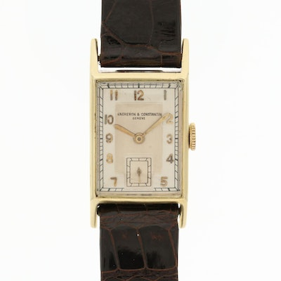 Vacheron & Constantin 18K Yellow Gold Wristwatch