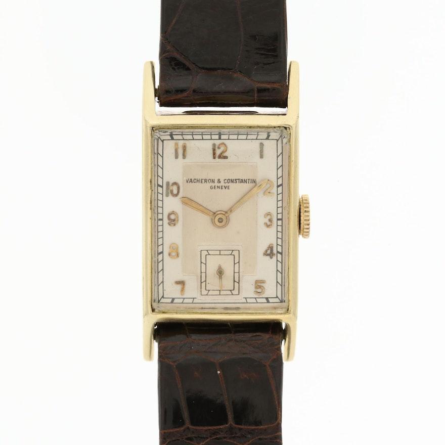 Vacheron & Constantin 18K Yellow Gold Wristwatch