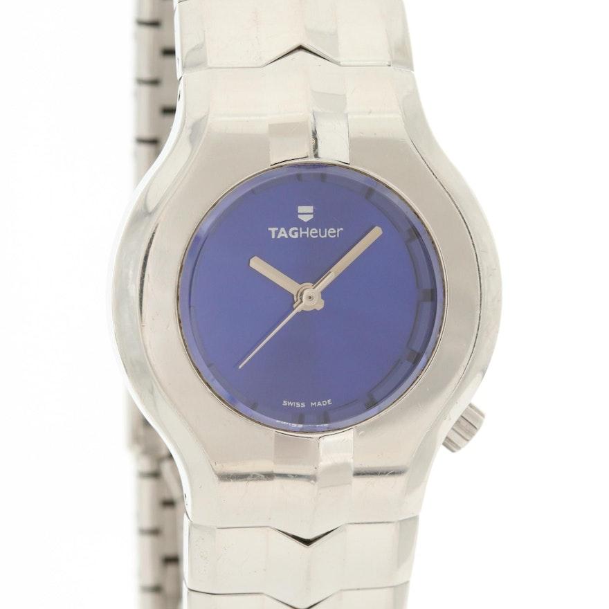 TAG Heuer Alter Ego Stainless Steel Quartz Wristwatch