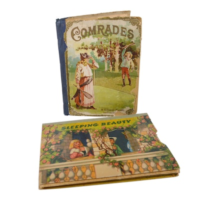 "1894 ""Comrades,"" ""Sleeping Beauty"" Pop-Up Book and Other"