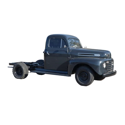 1950 Ford F250 Pickup Truck, Partially Restored