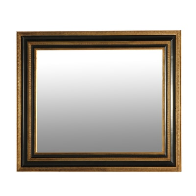 Traditional Style Large Beveled Glass Mirror