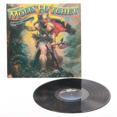 "Molly Hatchet ""Flirtin' with Disaster"" Vinyl Record, 1979"