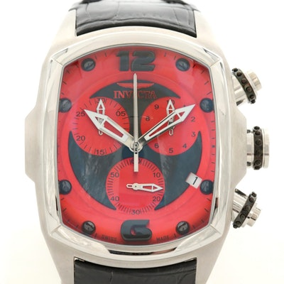 Invicta Lupah Revolution Stainless Steel Quartz Chronograph Wristwatch