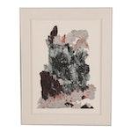 """John Salem Multi-Plate Etching à la Poupée """"Indian Paintbrush"""""""