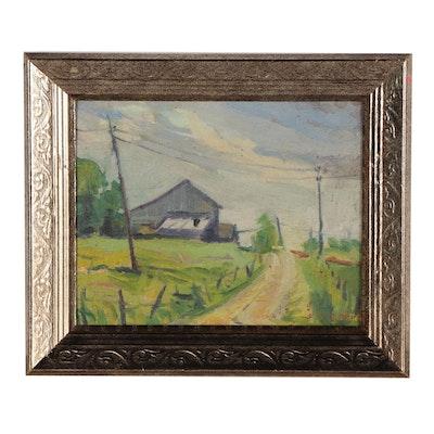 Regina Gates Landscape Oil Painting
