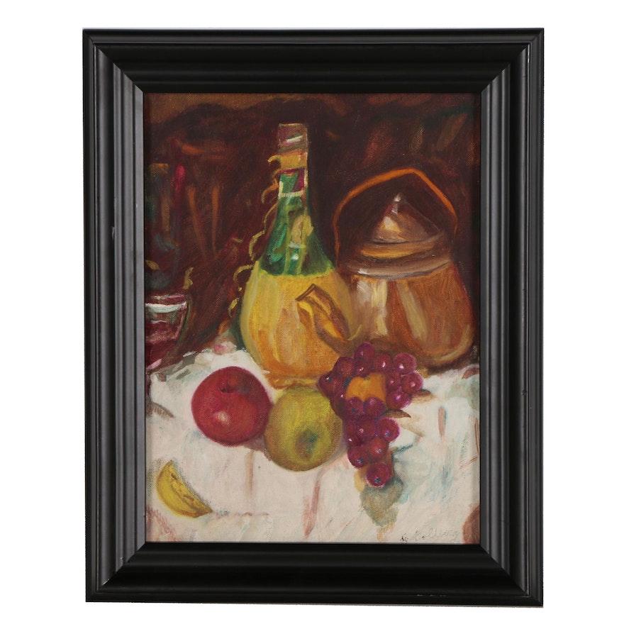 Goldberg Still Life Oil Painting