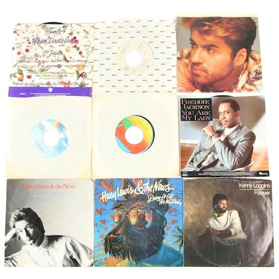Record Singles including Prince, Grace Jones, and Huey Lewis and the News