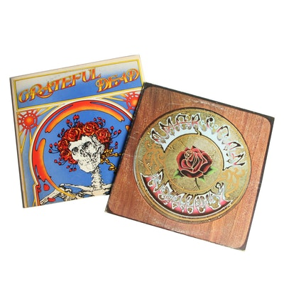 "Grateful Dead ""American Beauty"" and ""Grateful Dead"" Record Albums, 1970s"