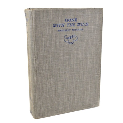 "Facsimile First Edition ""Gone with the Wind"" by Margaret Mitchell, 1986"