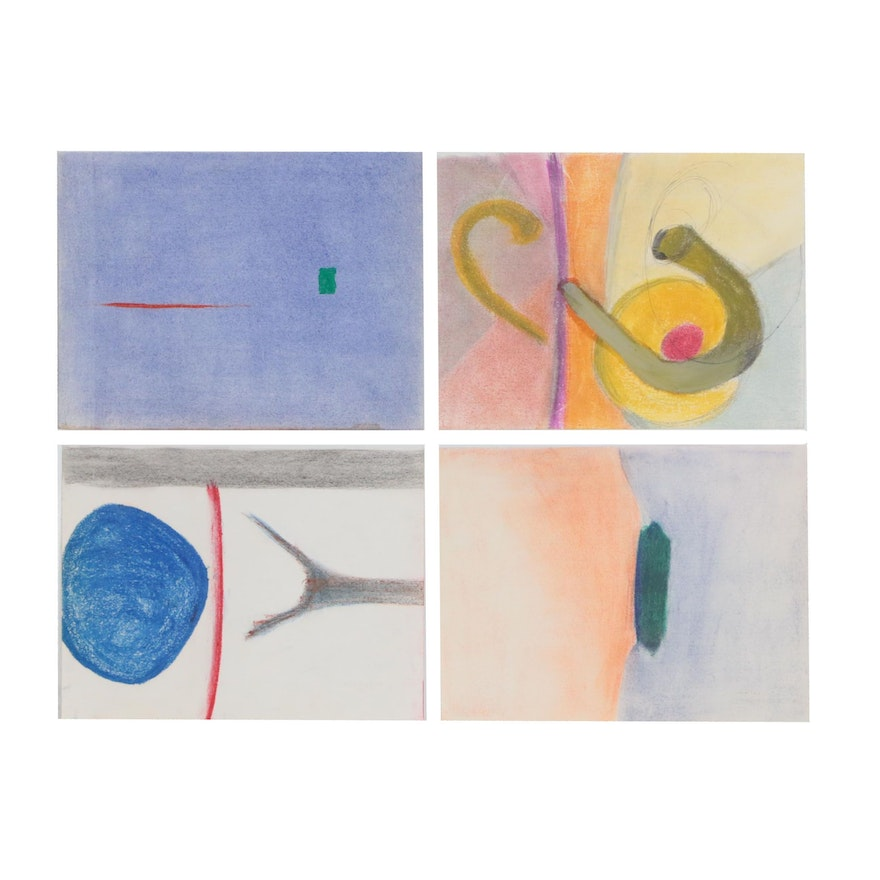 Beth Hertz Abstract Pastel and Mixed Media Drawings