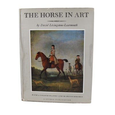 "1958 David Livingstone-Learmonth ""The Horse in Art"" Book"