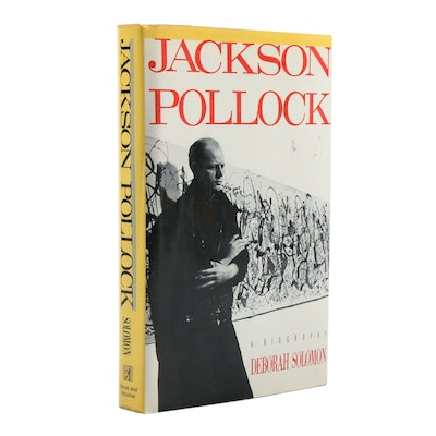 "1987 First Edition ""Jackson Pollock"" by Deborah Solomon"