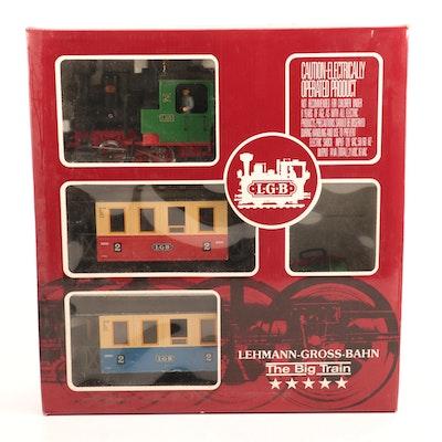 "LGB G Gauge ""The Big Train"" Model 20301 US with Box"
