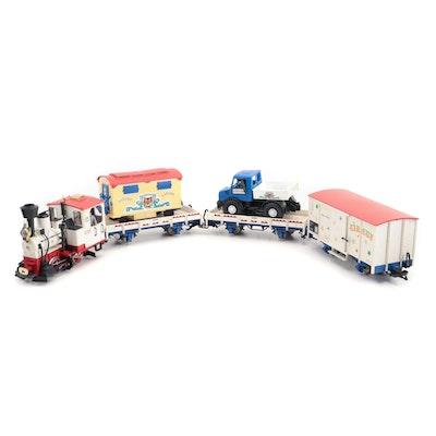 "LGB G Gauge ""Circus"" Train Set in Box"