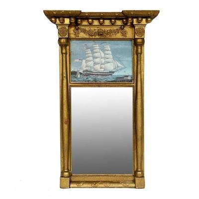 Federal Style Gilt Wall Mirror