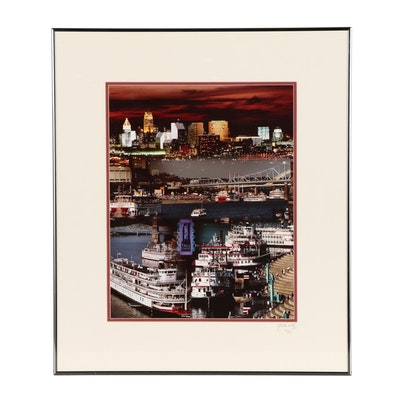 J. Miles Wolf Digital Photographic Print of Tallstacks Cincinnati