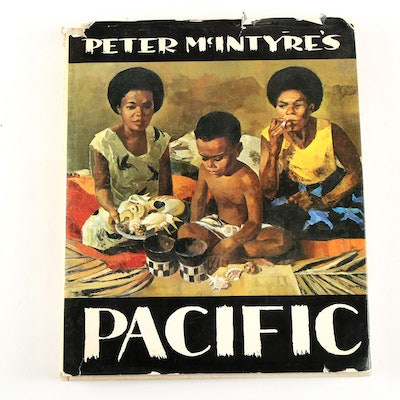 "1968 ""Peter McIntyre's Pacific"" Illustrated Volume"