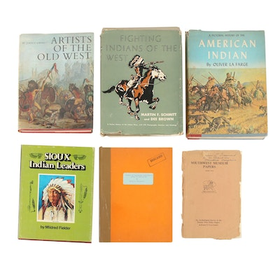 "First Edition ""Fighting Indians of the West"" with Other Native American Books"