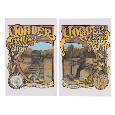 Robert Marx Posters for Yonder Mountain String Band, 2006