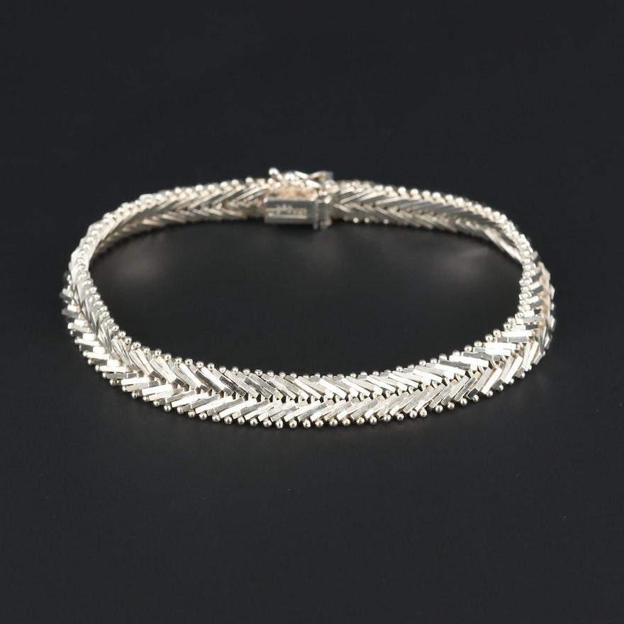 Riccio Sterling Silver Bracelet