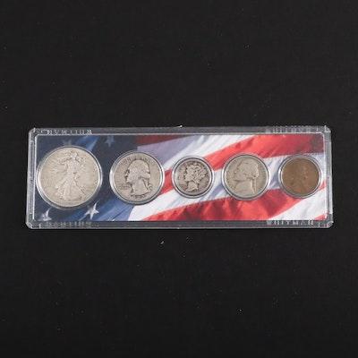 1942 U.S. Type Coin Set