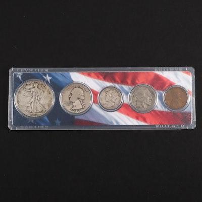 1937 U.S. Type Coin set