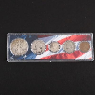 1941 U.S. Type Coin Set