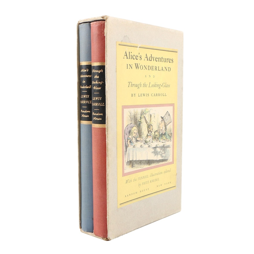"""Alice's Adventures in Wonderland"" and ""Through the Looking-Glass"" Box Set, 1946"
