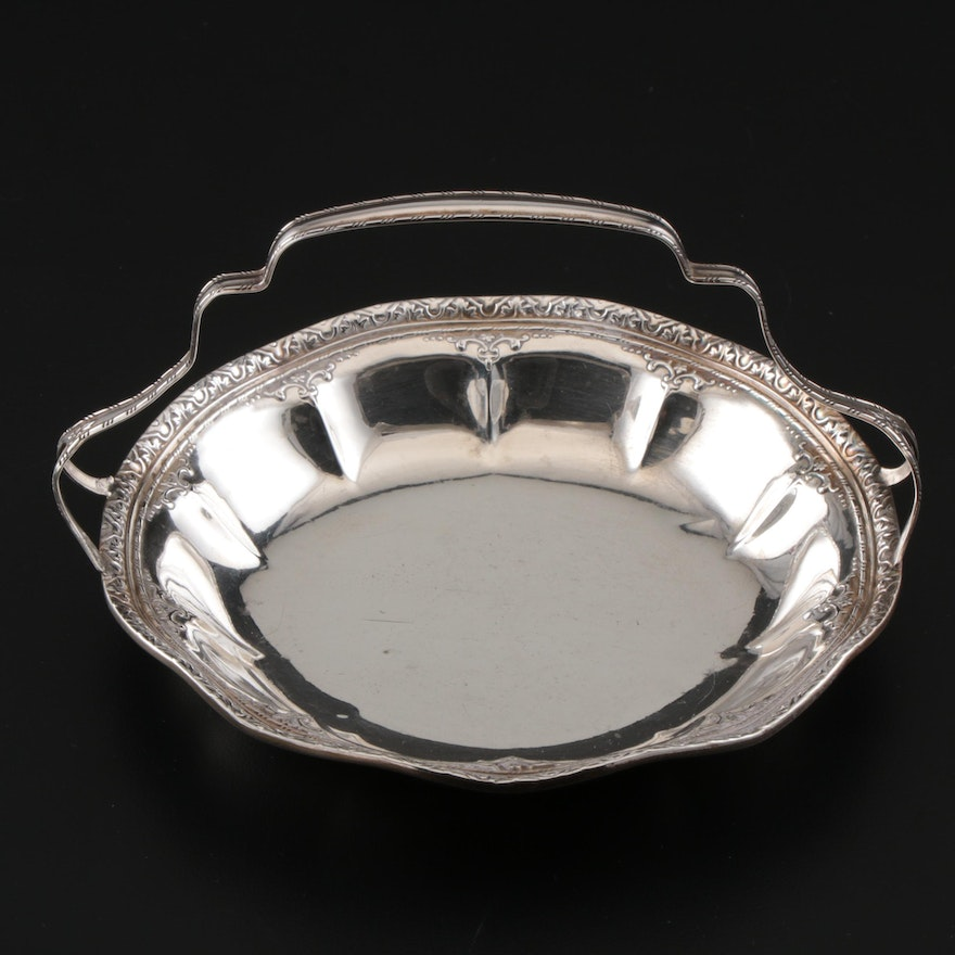 Webster Co. Sterling Silver Bonbon Basket, Early/Mid 20th Century