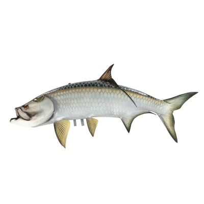 Full Body Tarpon Fish Mount
