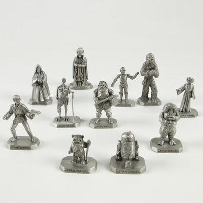 Star Wars Rawcliffe Pewter Figurines, 1990s