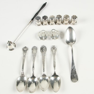 Sterling Silver Spoons, Spice Shakers, and More Including Reed & Barton
