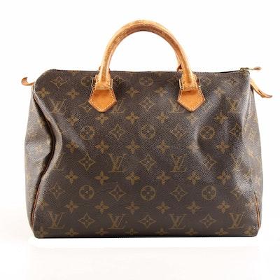 Louis Vuitton Monogram Canvas Speedy 30 Bag