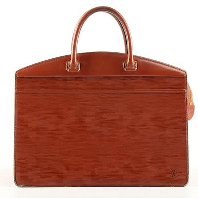 Louis Vuitton Kenyan Fawn Epi Leather Riviera Satchel