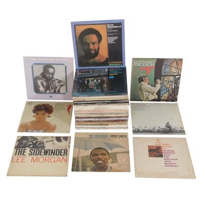 Miles Davis, Dexter Gordon and Other Jazz and Blues Vinyl Records