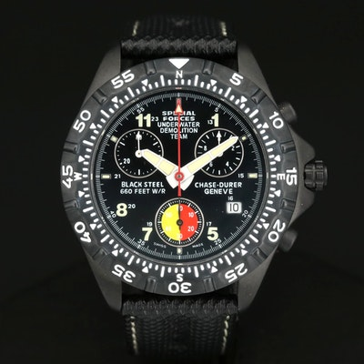 Chase Durer U.S. Special Forces Quartz Chronograph Wristwatch