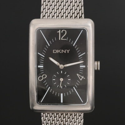 DKNY Stainless Steel Wristwatch