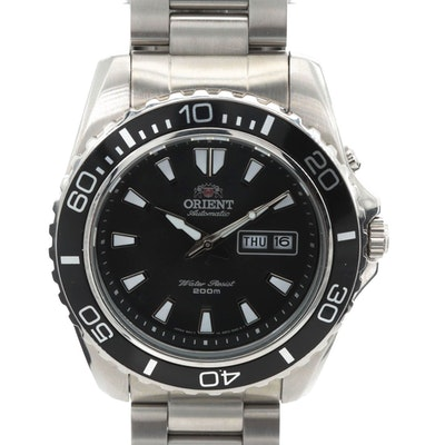 Orient Mako XL Stainless Steel Automatic Wristwatch