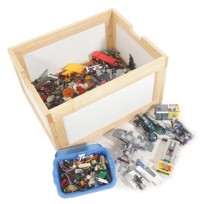 LEGO Blocks, Characters, and Vehicle Parts with NILO Toy Box