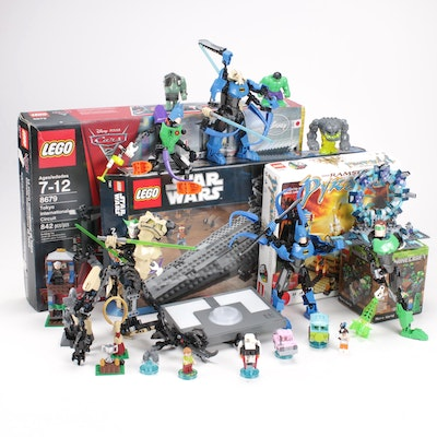 LEGO Games and Playsets Featuring Lego Dimensions, Star Wars, Harry Potter