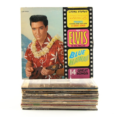 Records Including Elton John, Elvis Presley, The Who, and More Artists