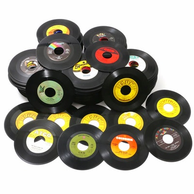 James Taylor, Paul Anka, Johnny Cash, Sonny & Cher and More 45 RPM Records