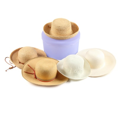 Sun Hats Featuring Scala Collection, Fashions by Mr. Murray New York and Others