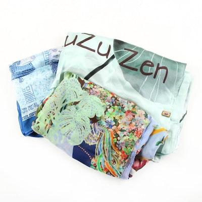 Mary Katrantzou, Yuzuzen and Other Silk Scarves