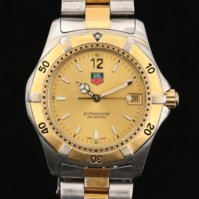 TAG Heuer 2000 Two-Tone Quartz Wristwatch
