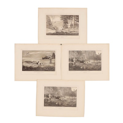"Edwin Megargee Etchings from ""American Shooting Series"""